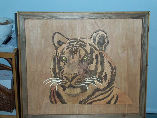 tiger - Woodworking Project by Blackbeard