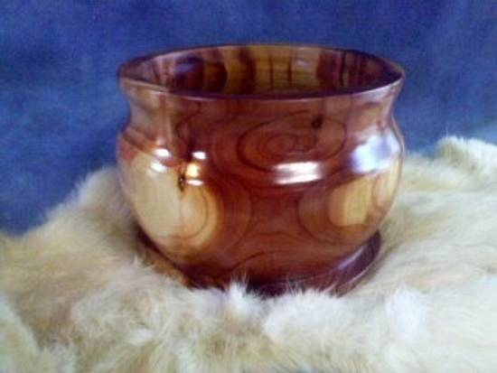 cedar bowl - Woodworking Project by munchy