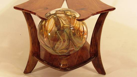 Glass Ball Coffee Table # 2 – Martini Time - Woodworking Project by Woodbridge