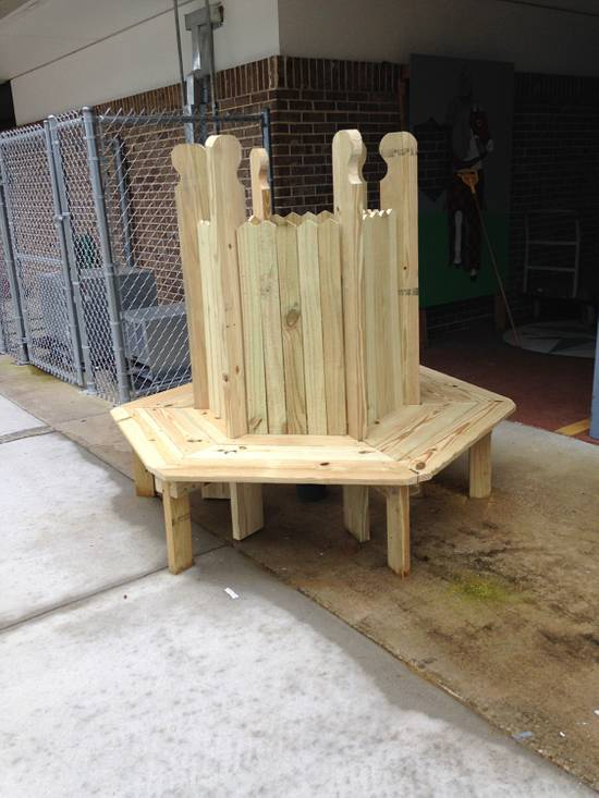 Tree bench - Woodworking Project by Angelo