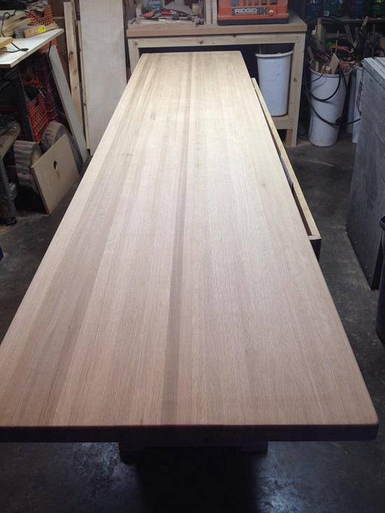 White oak, butcher block, counter top - Woodworking Project by Hartman Woodworks