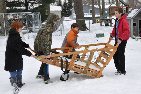 Boy Scout Klondike sled - Woodworking Project by GaryL