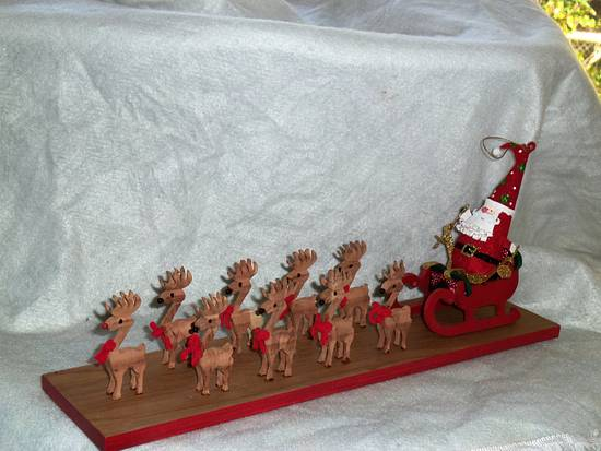 santa  - Woodworking Project by Blackbeard