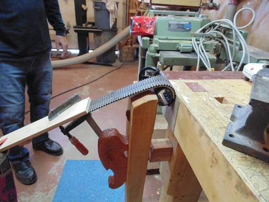 Steambending back scratchers - Woodworking Project by kiefer