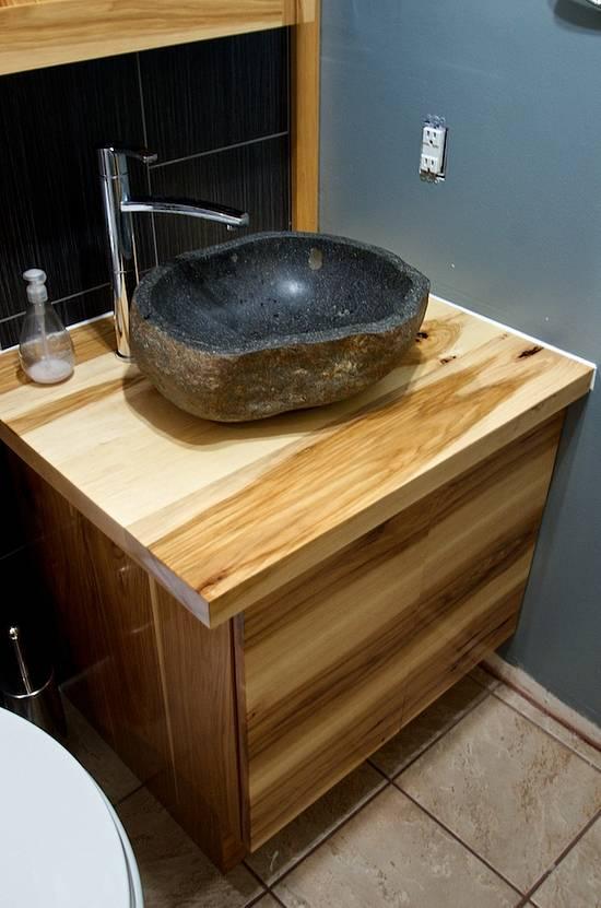 Bathroom Vanity - Woodworking Project by Manitario