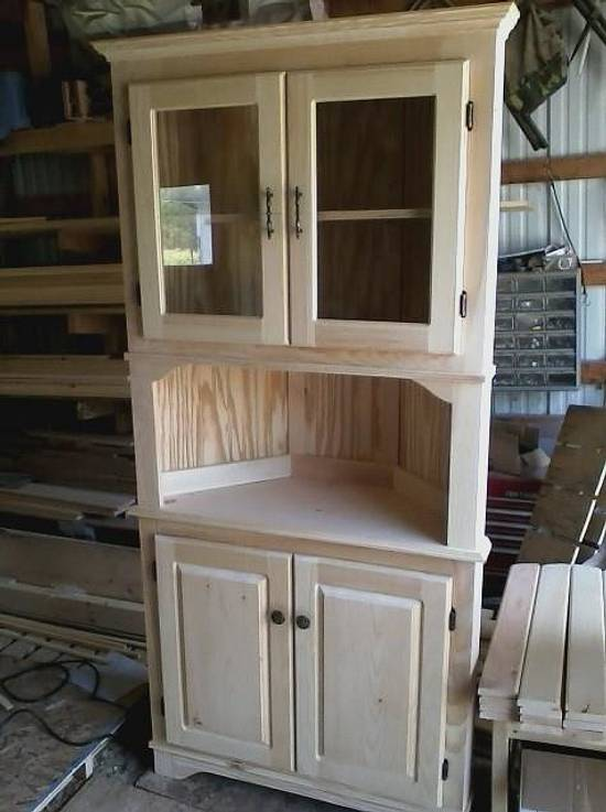 corner cabinet - Woodworking Project by Jerbear
