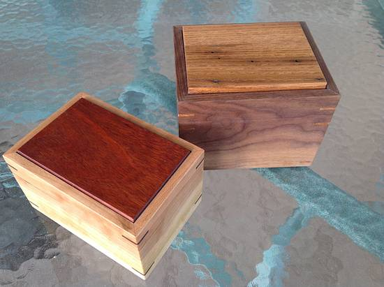 A couple boxes - Woodworking Project by Tim Dahn