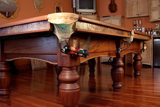 Pool table - Woodworking Project by WestCoast Arts