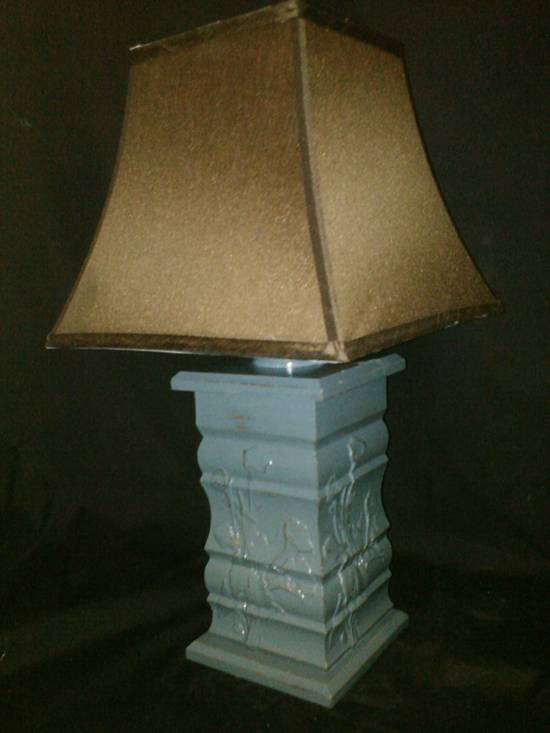 Antique Table Lamp - Woodworking Project by CNC Craze