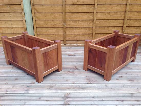 Garden planters - Woodworking Project by iGotWood