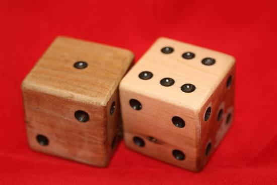 Large Dice - Woodworking Project by Railway Junk Creations