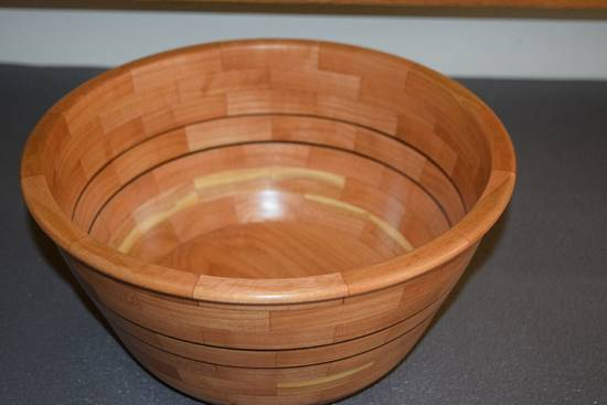 Salad bowl - Woodworking Project by Bill