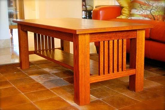 Mission Style Cocktail Table - Woodworking Project by JDG