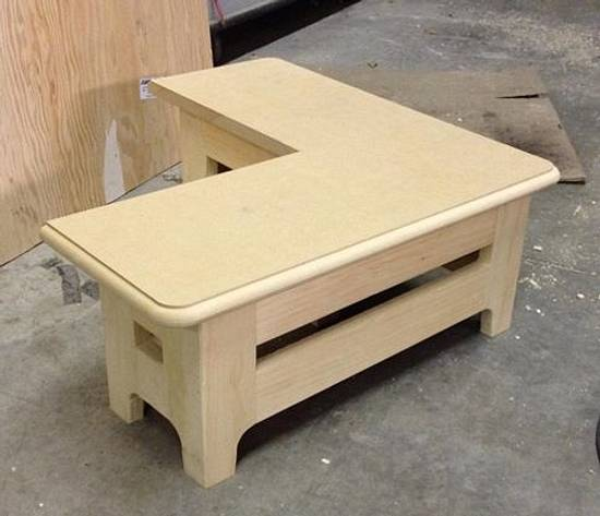 Kids Bathroom Vanity Bench - Woodworking Project by Oblivion