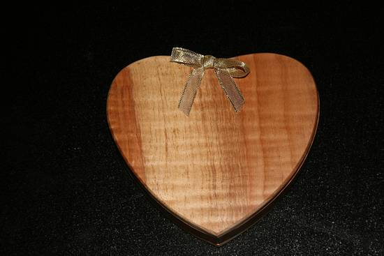 Heart Treasure Box - Woodworking Project by Railway Junk Creations