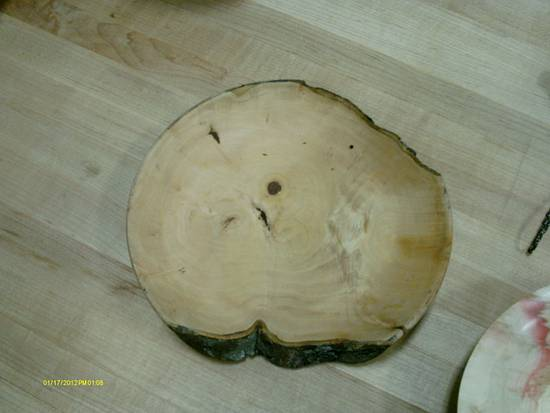 Large bowl - Woodworking Project by Rustic1