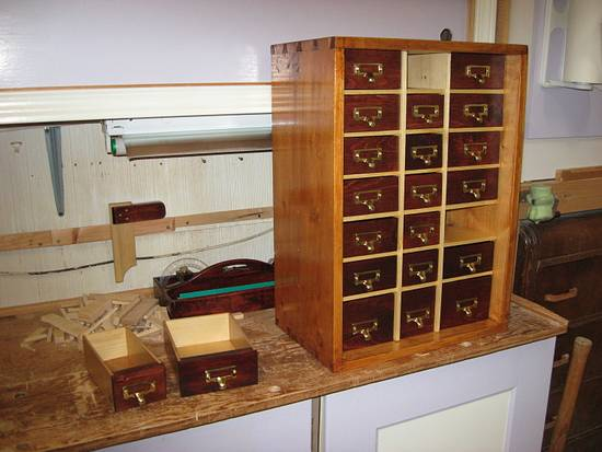 Nail Cabinet - Woodworking Project by Richforever