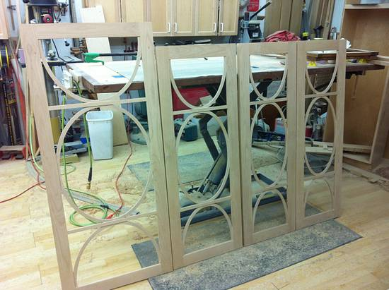 Alder Doors - Woodworking Project by Les Hastings