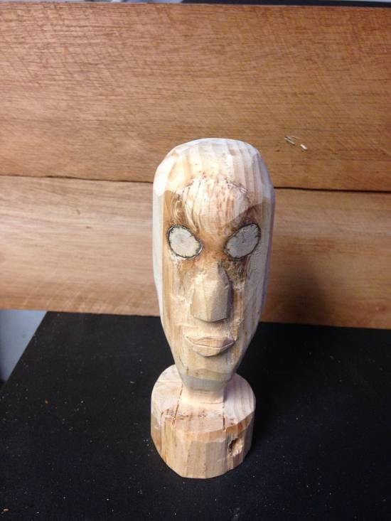 Hand carving  - Woodworking Project by David A Sylvester