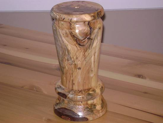 Maple Lamp - Woodworking Project by David Roberts
