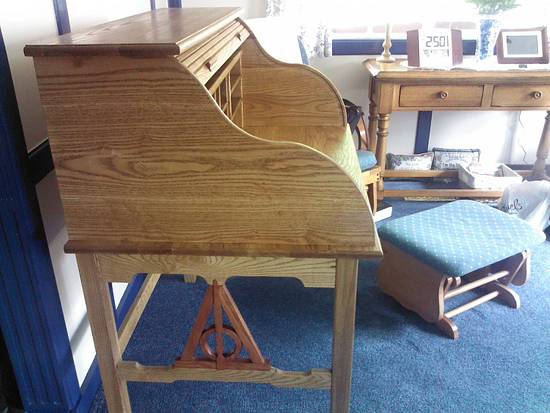 My first roll top. - Woodworking Project by jbartle
