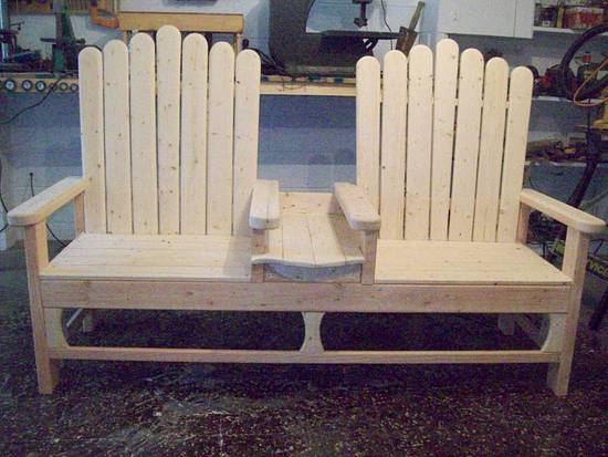 indoor outdoor benches - Woodworking Project by jim webster