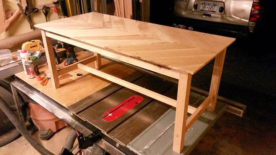 pallet coffee table for a friend - Woodworking Project by Brian