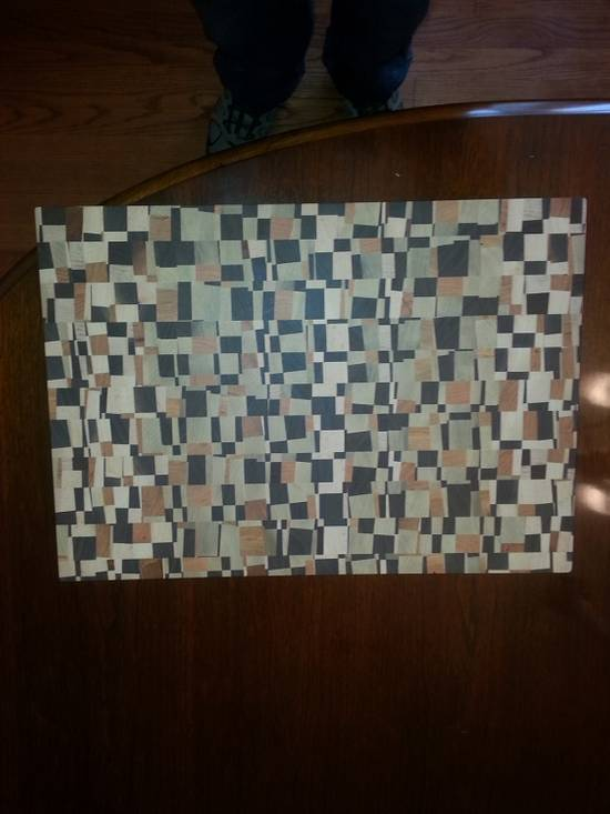 chaotic cutting board - Woodworking Project by rrbou