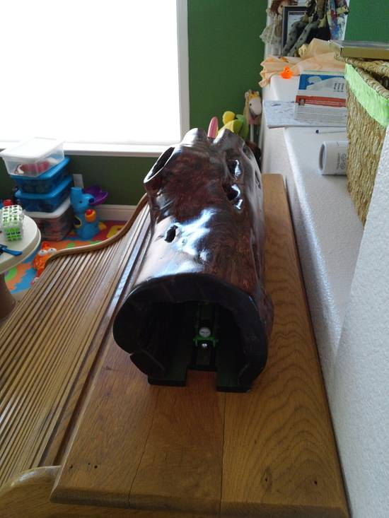 Thomas and Friends Tree Tunnel  - Woodworking Project by Justin