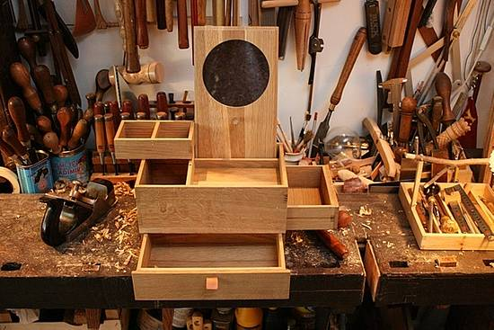 Japanese inspired jewel box for  my daughter. - Woodworking Project by MaFe