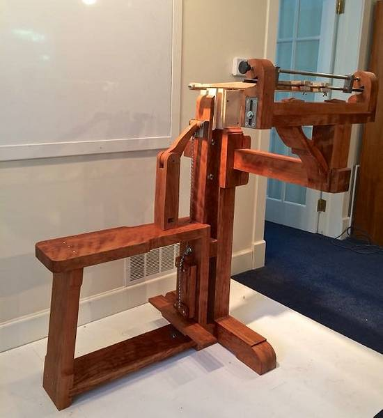 Chevalet de Marquetrie - Woodworking Project by RogerBean