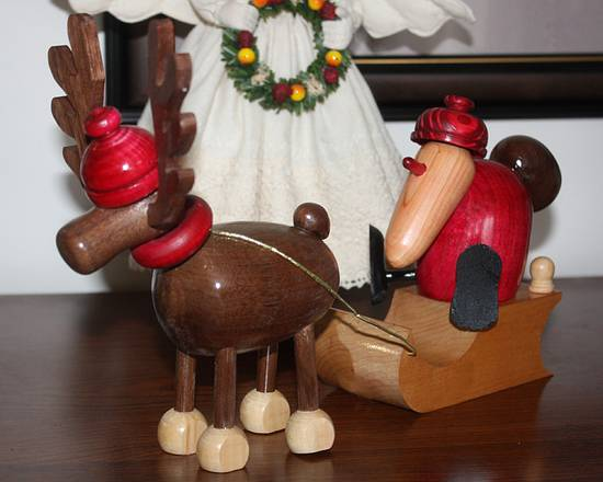 Santa and Mose - Woodworking Project by Dandy