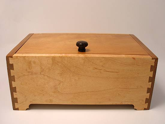 Carol's Box - Woodworking Project by DouglasB