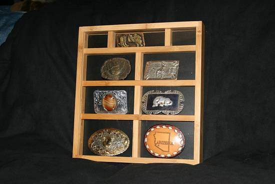 Belt Buckle Display - Woodworking Project by Railway Junk Creations